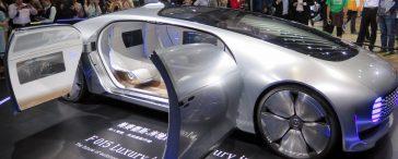 ConceptCar Autonomes Fahren Mercedes Benz